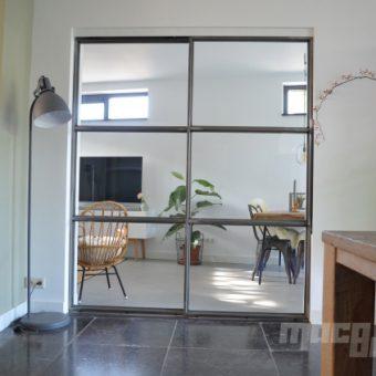 Tegenwoordig plaatsen we graag een stalen binnendeur in onze woning