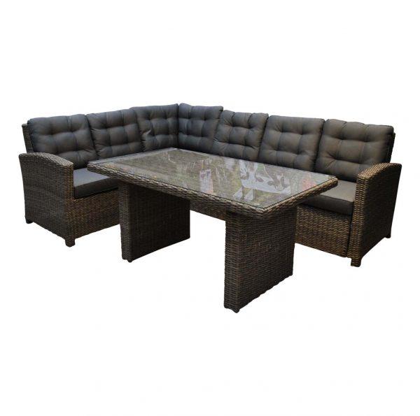 lounge dining set met verstelbare tafel kopen
